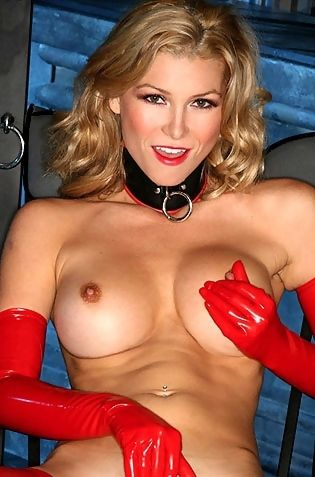 Heather Vandeven Red Latex